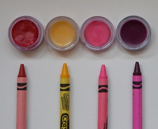 Crayon Lip Balm  YOU WILL NEED: