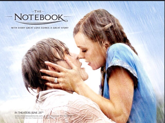 The notebook A romantic sad movie. Based in a book. This movie is a classic and another favourite