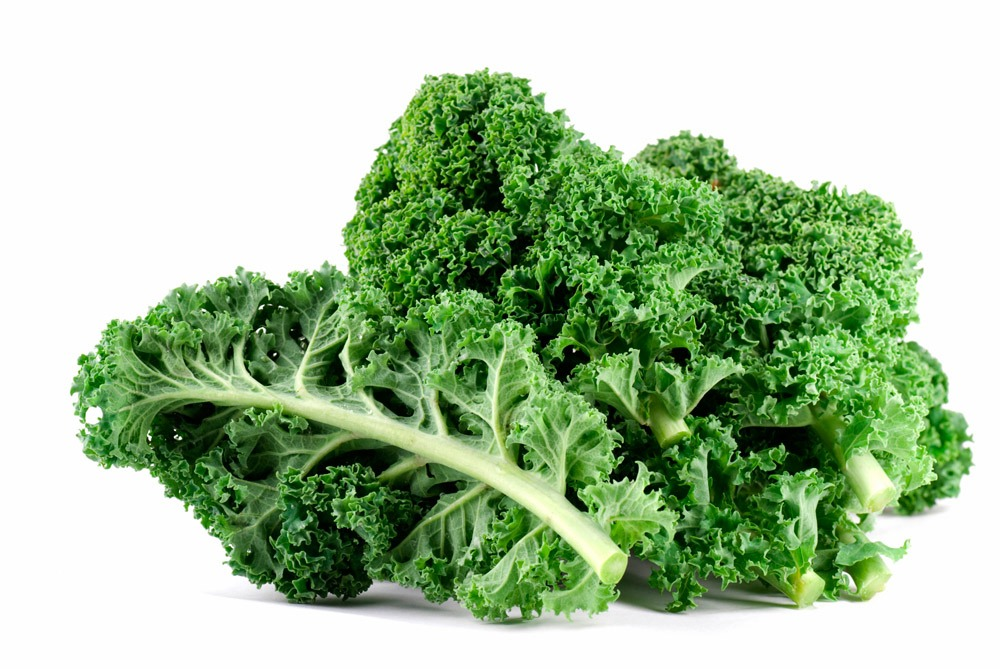 Kale It's no wonder this powerful leafy green has been dubbed a superfood. In addition to all its health benefits, kale contains the wrinkle-fighting antioxidant lutein, iron, which helps get more oxygen to your skin, and vitamin A, which helps fight premature aging.