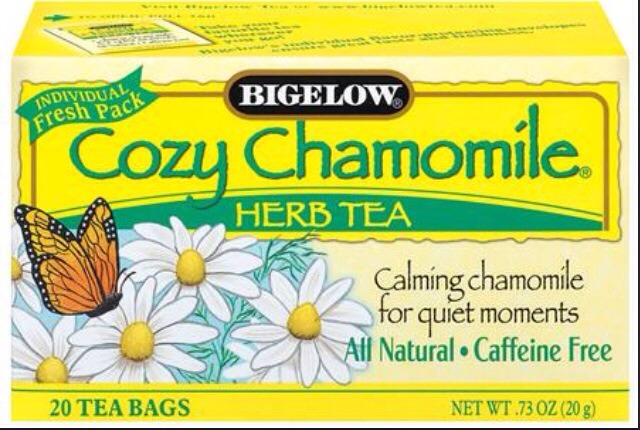 It can be any type of chamomile brand tea.