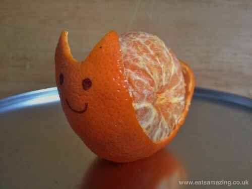 Clementine snail.