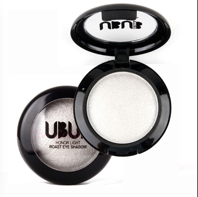 Apply white eyeshadow to the Center of your upper and bottom lip