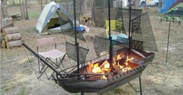 http://www.goodshomedesign.com/pirate-ship-fire-pit/