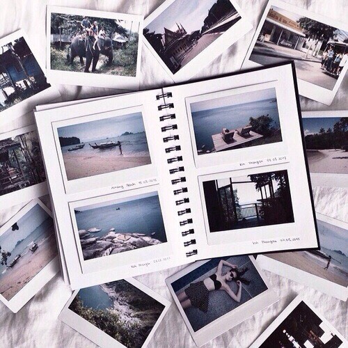 Making Polaroid books is so much fun because you can look back and see all the fun you took pictures of!📷🌟
