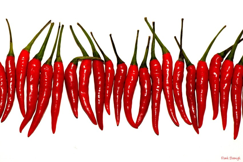 """Eat something spicy! The """"pain"""" from eating spicy foods releases feel good endorphins"""
