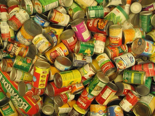 Old canned food. Sure, you can sometimes eat expired food..wait, what? I know it sucks because it feels like wasting but really, you don't want that tomato soup from 2007.