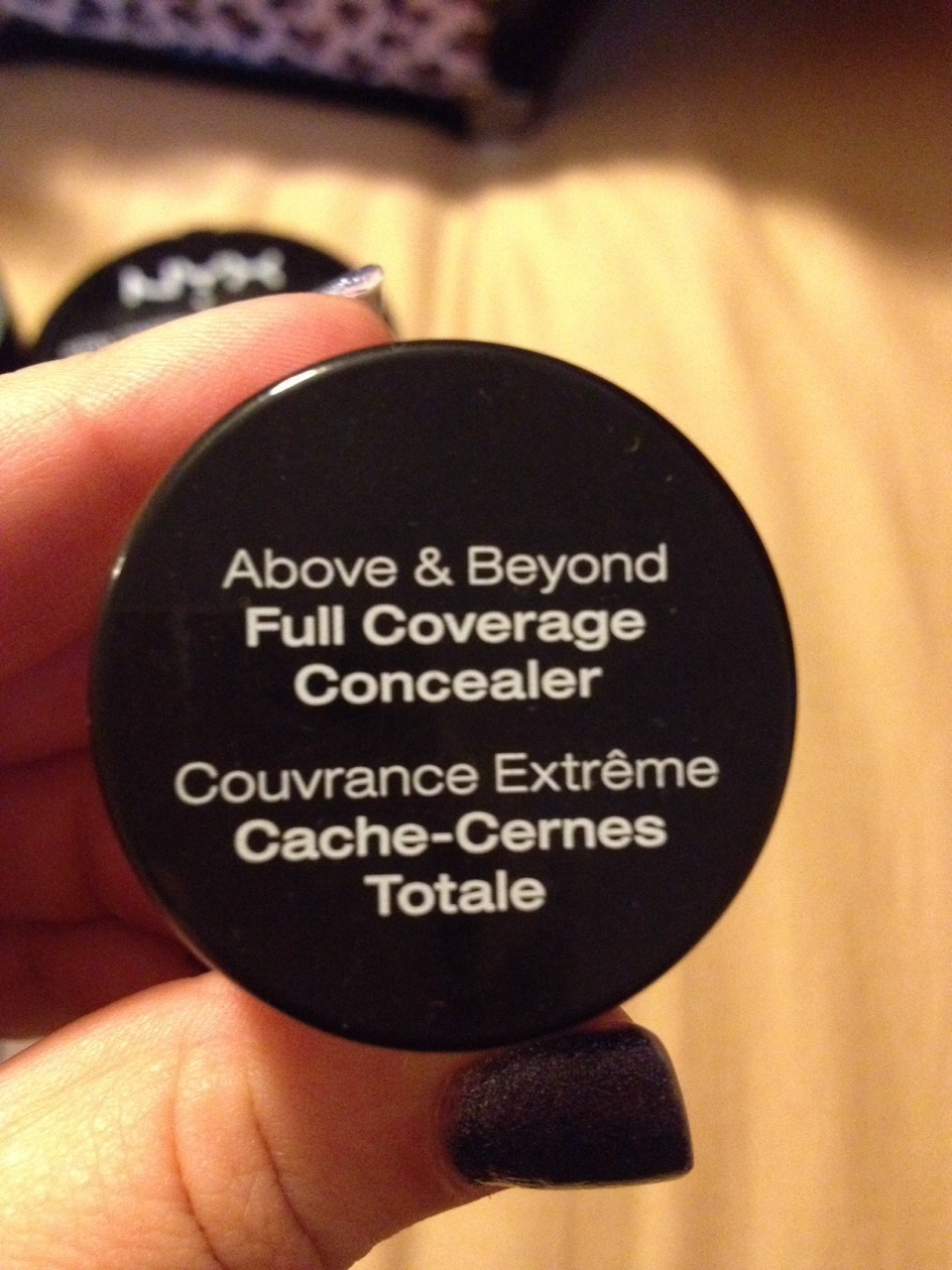This full coverage concealer covers everything dark circles spots and unwanted bumps $4.99 love it little goes a long ways!!!