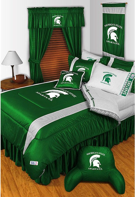 Sport your teams gear. Decorate your room to chear on your team.