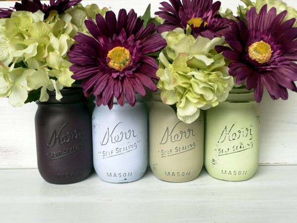 You can use them as vases for flowers