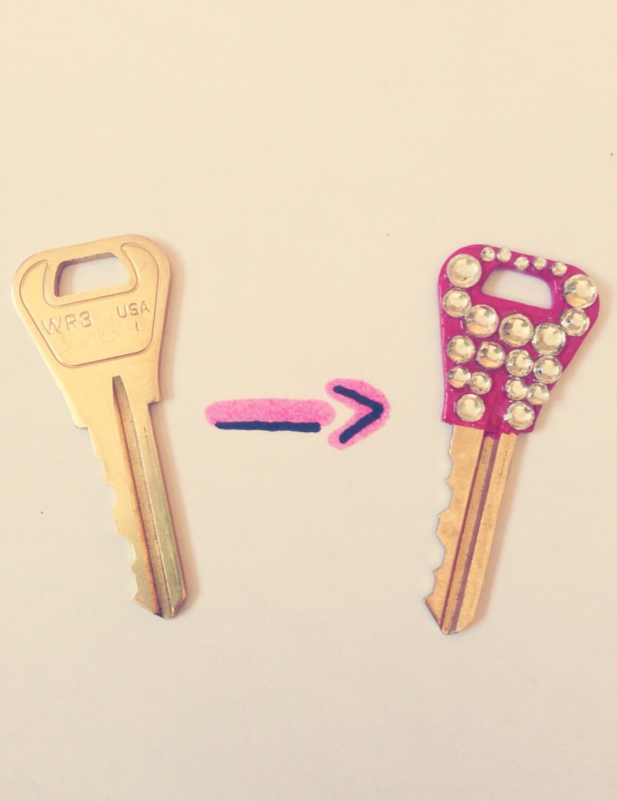 Turn any boring key into a cute one!