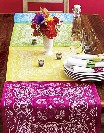 Dress up your table with lushcolor.