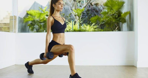 Exercise #4: Lunges Four sets of 15
