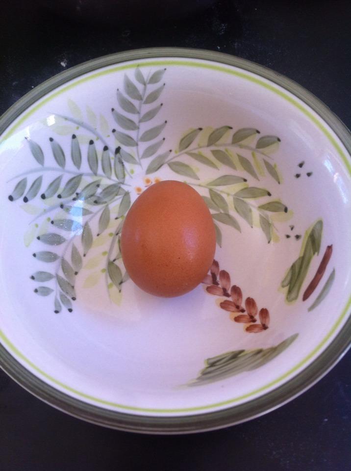 Take an egg...