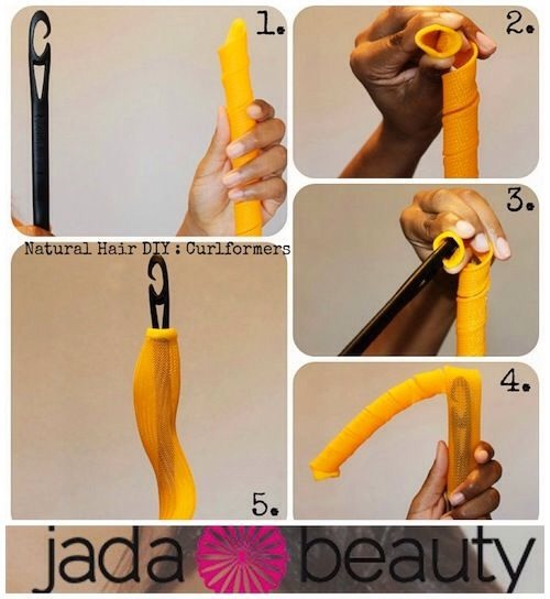 How to put the curler on the wand