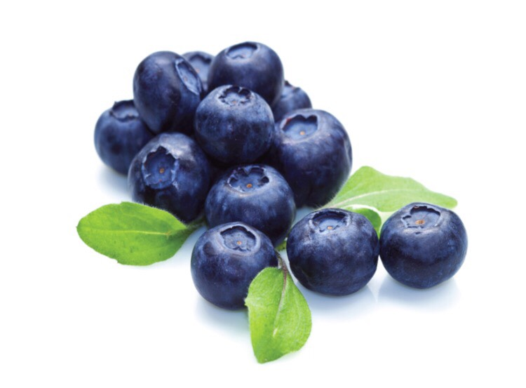 6)- blueberries Contain natural aspirin which helps with chronic-inflammation and pain. It also acts as an antibiotic which prevents infections.