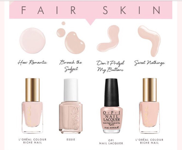 Best nude colors for fair skin