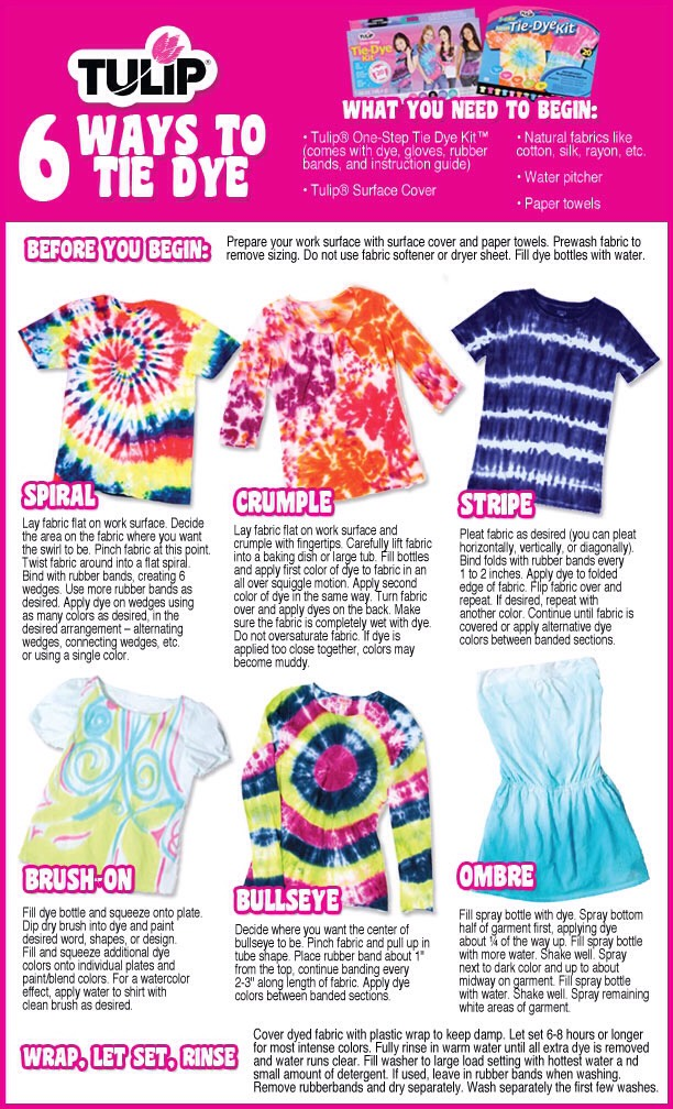 also, here's a tie dye guide to help!
