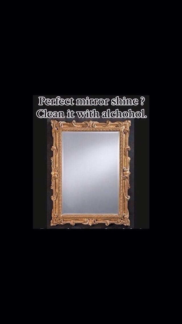 Foggy mirror?