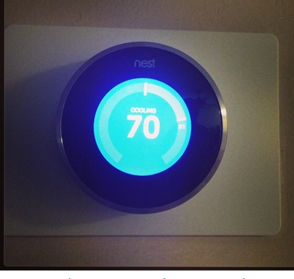 The best thermostat I've ever owned! Not only does it learn your patterns and automatically adjusts to what you normally would like, but you can change the setting remotely from anywhere with your smartphone or tablet. It also saved energy for me this year! Best Mother's Day present I've ever gotteN