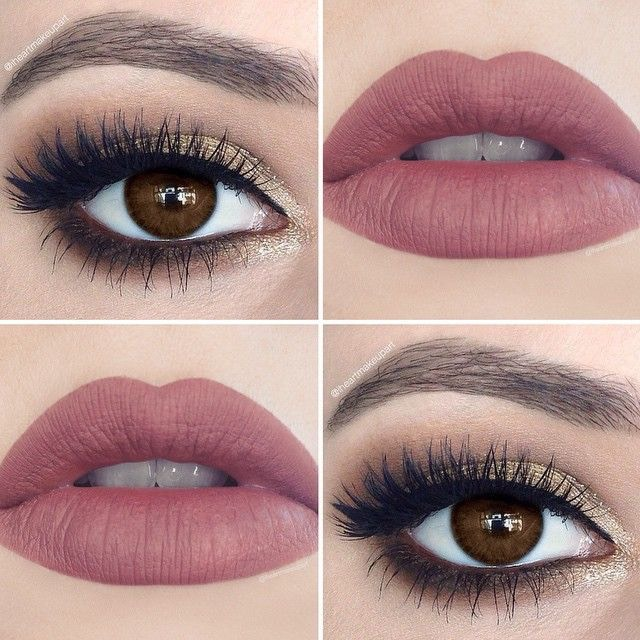 With you brown eyes makeup tips advise