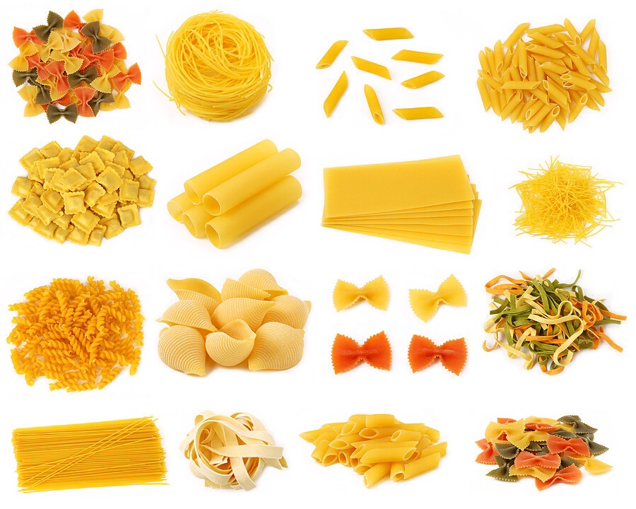 You can use an kind of pasta you like, boil pasta in water till thick n soft, add some oil so that the pasta does not stick to the pot...>