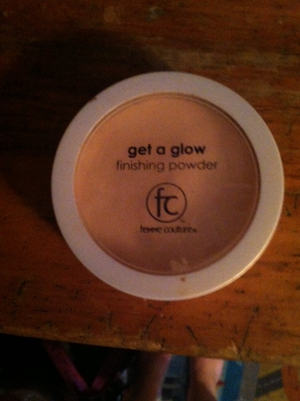 The final step is a finishing powder to get a beautiful soft glow. This one is amazing and cost around $12 also. So after your done with the powder you apply this with the makeup brush but only along your cheek bones middle forehead and center of your chin.