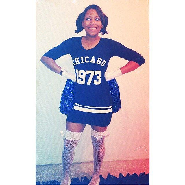 Pom-Poms Metallic Pom-Poms ($1)  Costume: Cheerleader