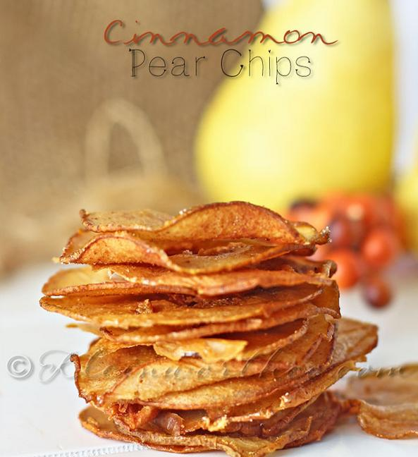 17. Cinnamon-Pear Chips  http://www.kleinworthco.com/2013/09/cinnamon-pear-chips.html
