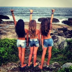 All photos taken off the internet. You can get them all up by searching 3 best friends.