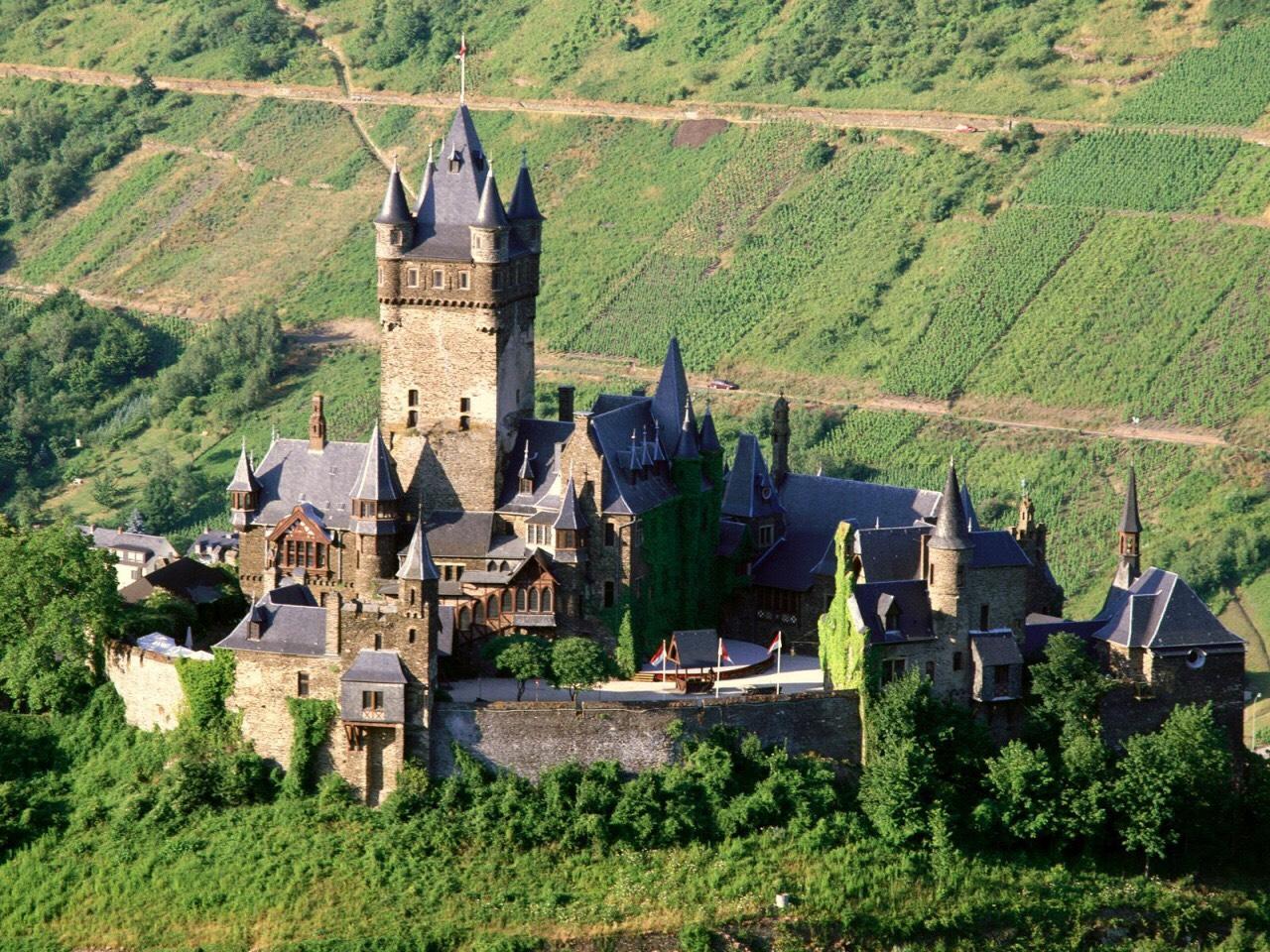 Архитектура Кохем Германия бесплатно