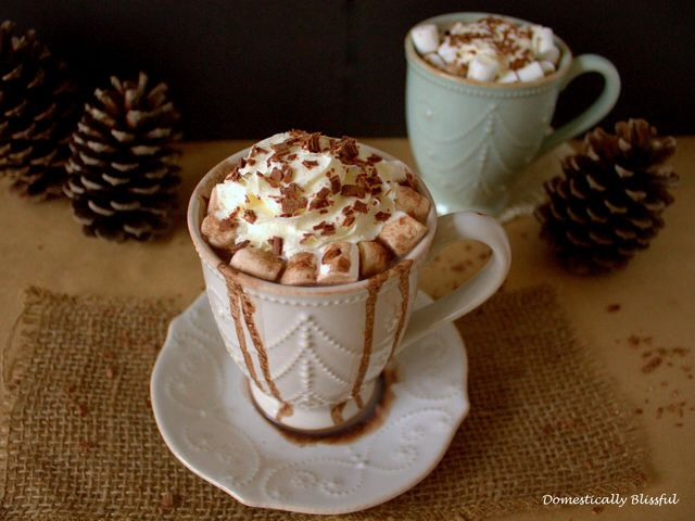 6. French Vanilla Hot Chocolate