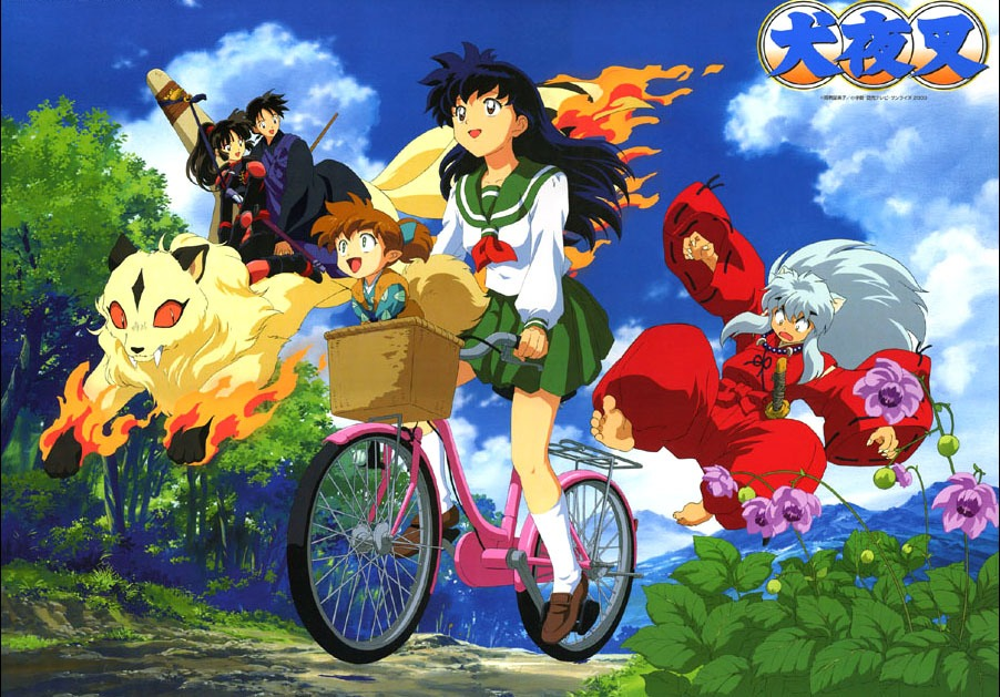 Inuyasha is my all time favourite anime as the English dub is good and there are a lot of episodes!