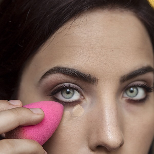 You can use this to blend out your concealer