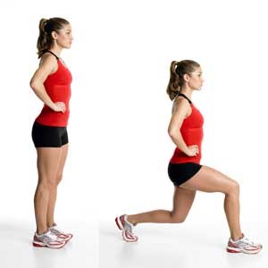 30 lunges