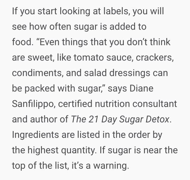 1.)Read labels