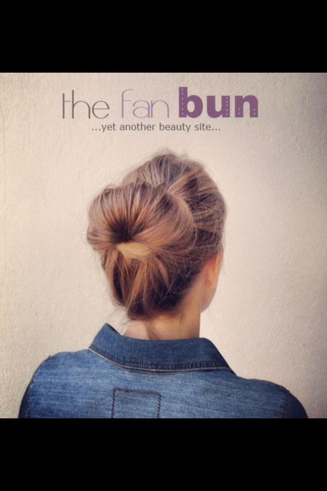 How to create this gorgeous simple bun