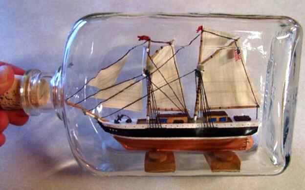 Sail Boat in a Bottle