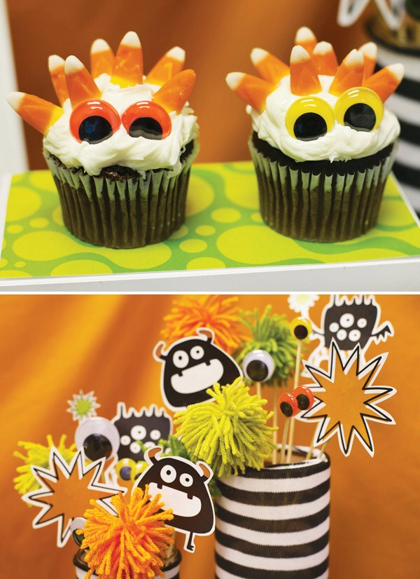 You could make some monster themed treats