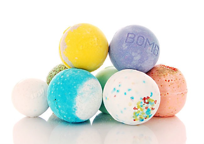 First off, run yourself a nice hot bath and perhaps throw in a bath bomb! My favourites are from Lush.