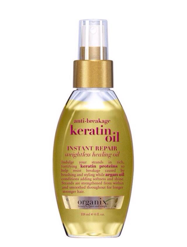 Healing oil for damaged hair