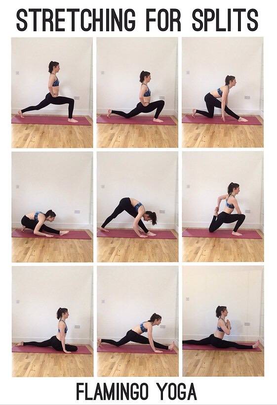 We girls at one point we want to be able to do the splits so Igathered a lot of stretch exercises for you enjoy ❤️ Do the position for 15 secs