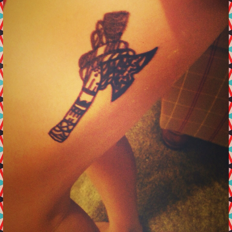 Bohemian Hatchet Tattoo🍂.