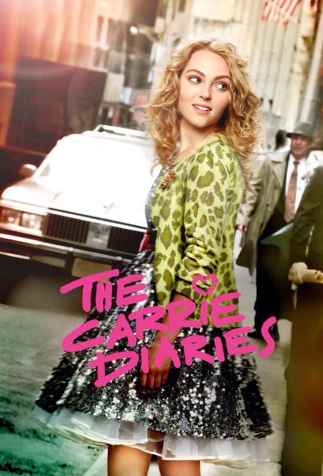 The Carrie diaries, i loved this show it was fun and I loved how u got to see different time periods📺the plot was amazing💚