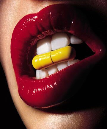 Vitamins! They help keep you healthy, which is a key point when it comes to beauty  • biotin is good for hair a nails  •fish oil is good for skin and hair