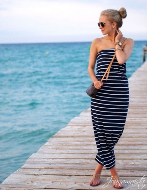 Maxi dresses and skirts have became a huge trend!