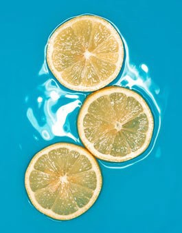 "Even out skin with a fruity solution ""Take a freshly cut lemon and rub gently on rough elbows and knees. The acid in the lemon will soften rough spots on skin and also lighten any dark areas.""Lianne Farbes, TheMakeUpGirl"