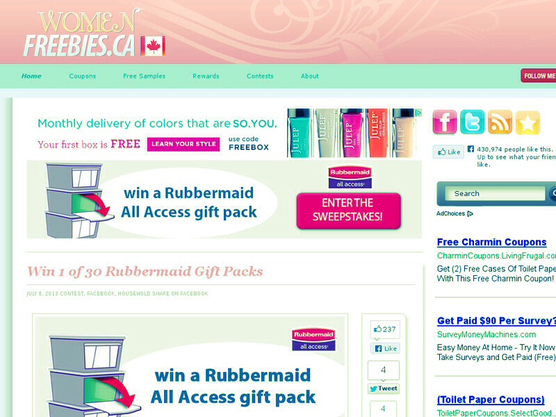 you can get anything from coupons, rewards, contest and ofcourse, freebies!!! who wouldnt want them? visit www.womenfreebies.ca for some excting perks and give aways!!! from the latest and the greatest 👍👍👍