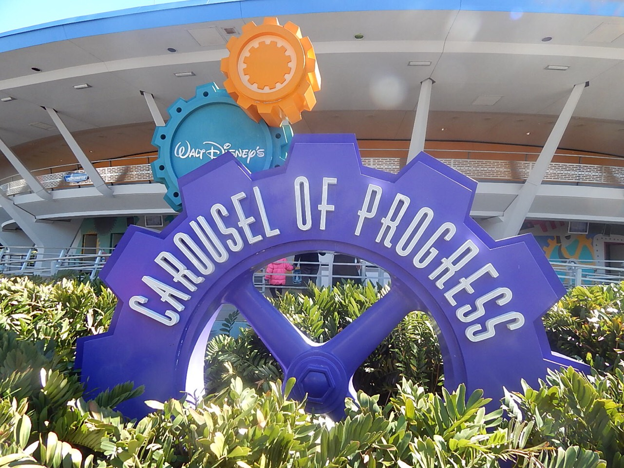 Walt Disney's Carrousel of Progress Travel through the 20th century to see how technology has improved our way of life during this classic Audio-Animatronics show.  Height: Any FP+: No