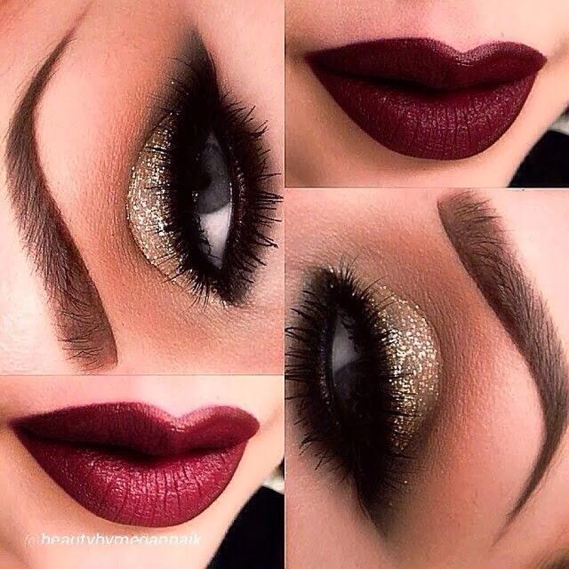 Red And Black Smokey Eye Makeup Makeup Nuovogennarino