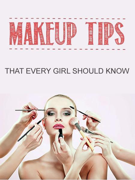 Here are a few makeup tips and tricks